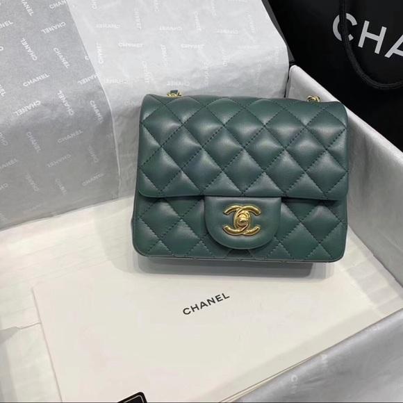 3b370f97c291 CHANEL Bags   Square Mini 17cm   Poshmark